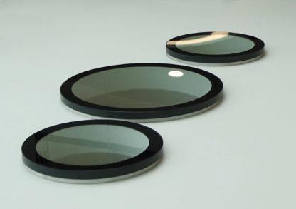 Drei runde Oberlichter – montiert im Innenraum