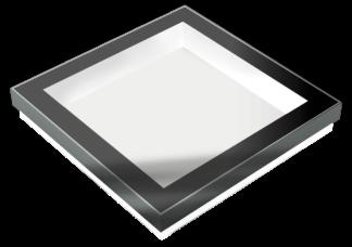 SkyVision FIXED - festverglastes, rechteckiges Flachdach Design-Oberlicht (Grafik)