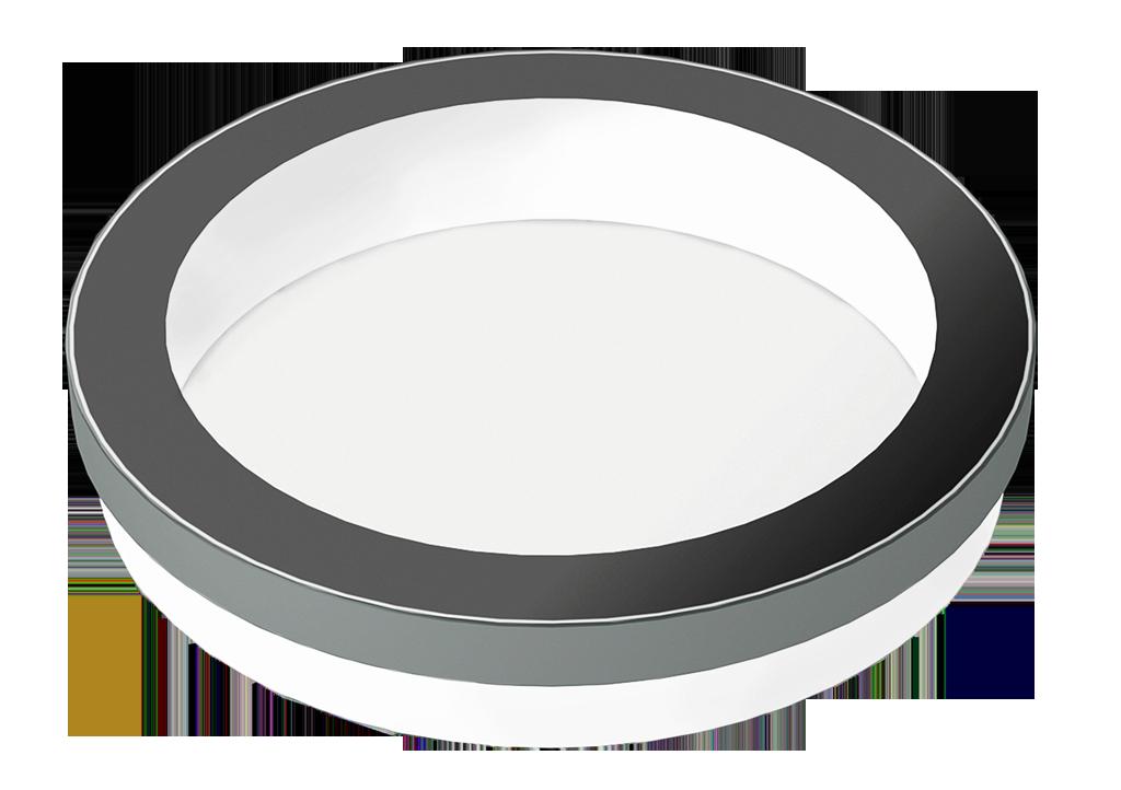 SkyVision CIRCULAR: rundes Design-Oberlicht für das Flachdach mit einer maximalen Größe von 2000 mm