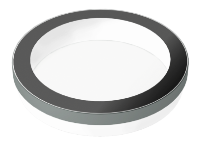 SkyVision CIRCULAR: rundes Design-Oberlicht für das Flachdach oder als Innenraum-Deckenfenster (Grafik)